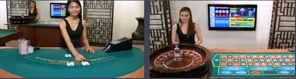 Live Casino Games at Intercasino