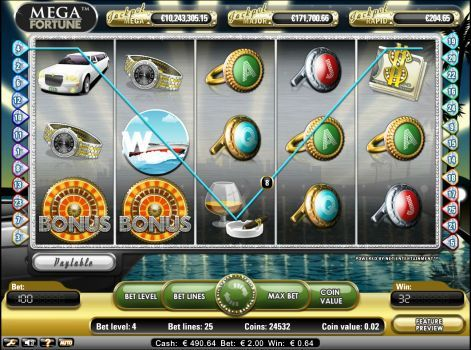 Mega Fortune Jackpot at Mr Green